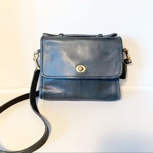 Vintage Coach Leather Crossbody No. 9870